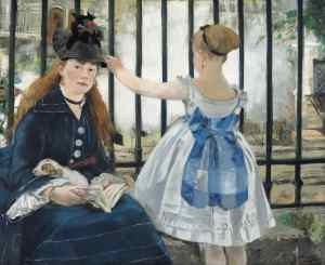 Edouard Manet: The Railway, 1873The National Gallery of Art, Washington.