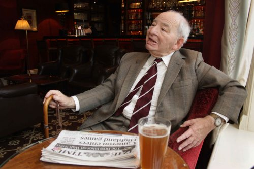 Colin Dexter: photo by Hattie Miles