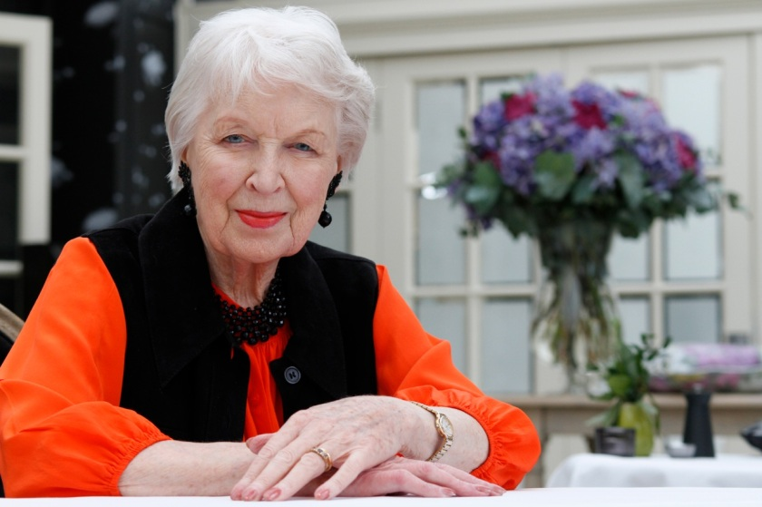 June Whitfield photographed by Hattie Miles