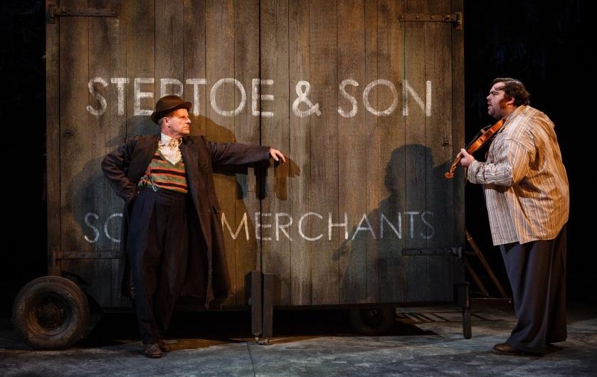 Mike Shepherd as Albert and Dean Nolan as Harold in Steptoe and Son