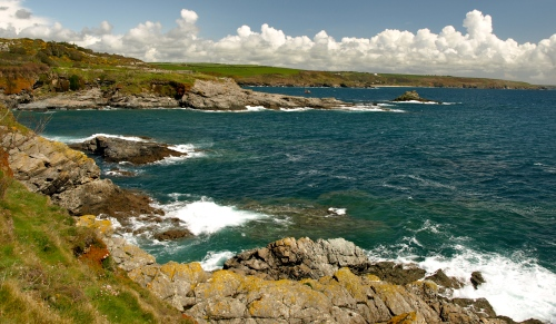 The beautiful and rugged coast of Cornwall's Penwith Peninsula. Photograph by Jeremy Miles