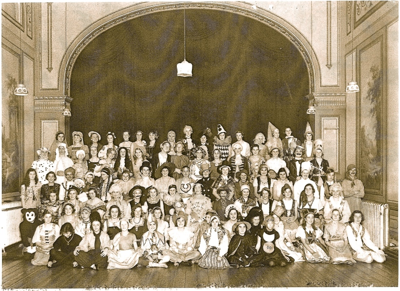 The Shelley Theatre: the way it was during its years as part of a school