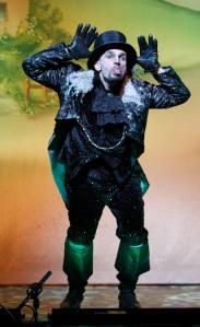Patrick O'Kane as Fleshcreep. Photo: Hattie Miles