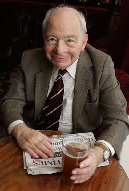 Colin Dexter Photograph by Hattie Miles