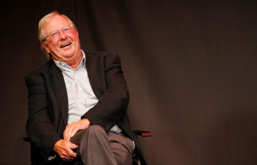 Tim Brooke-Taylor.     Photograph by Hattie Miles