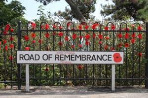 The Road of Remembrance in Folkestone