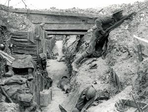 T WW1 trench warfare