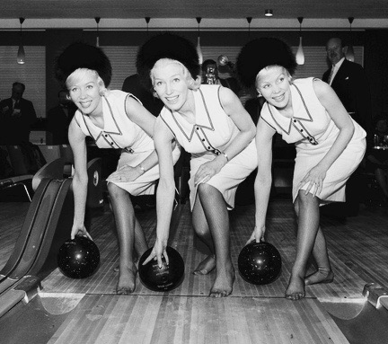 The Beverley Sisters with Joy (centre), Babs (left) and Teddie (right). Their classic line-up.