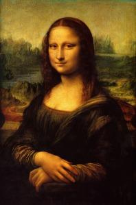 Mona Lisa smiles for the cameras