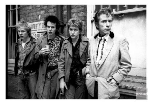 Sex Pistols - London - 1977
