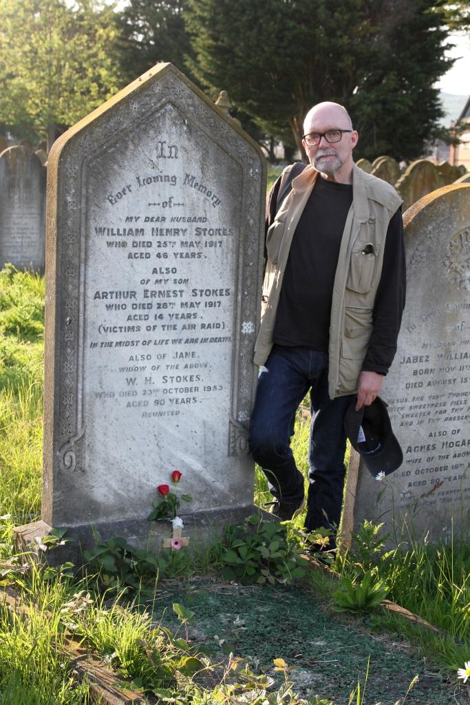 Jeremy and grave1